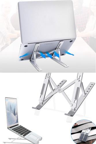 Aluminium Alloy Portable Laptop Stand Foldable Bracket