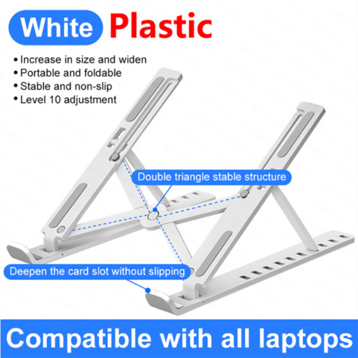 Portable Laptop Stand Support Base Notebook Stand Cooling Bracket Riser