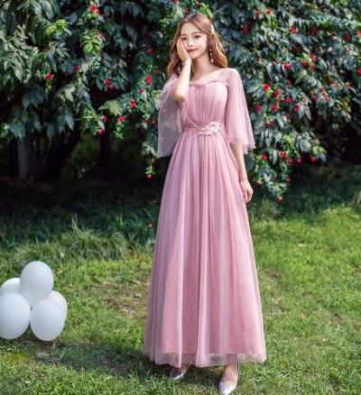 Bridesmaid Dresses Long Lady Dress for Wedding