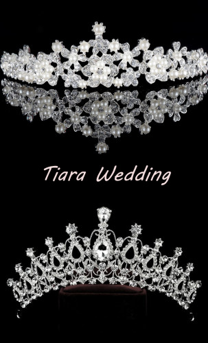 Princess Tiara Crown Crystal Rhinestone Wedding Accessories