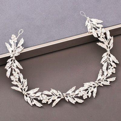 Pearl Rhinestone Headband Wedding Hair Accessories Bride Tiara