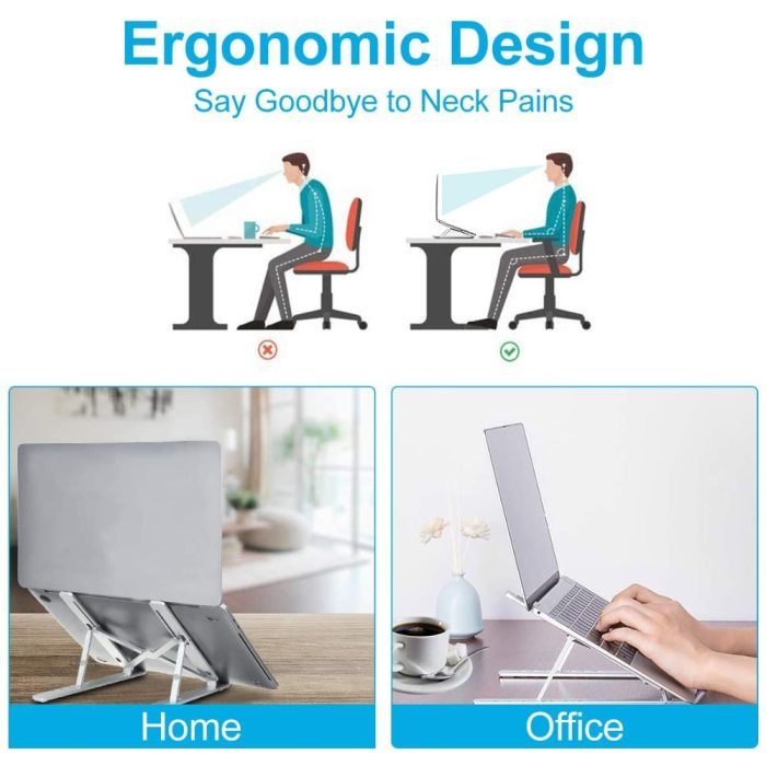 Portable Laptop Stand Auminium Foldable Notebook Support