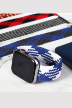 Braided Solo Loop For Apple Watch Band Fabric Nylon Elastic Belt Bracelet