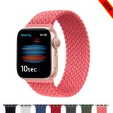 Braided Solo Loop Fabric Nylon Elastic Belt Bracelet for Apple Watch