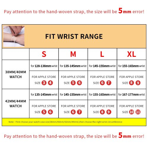 Braided Solo Loop For Apple Watch Band Fabric Nylon Elastic Belt Bracelet