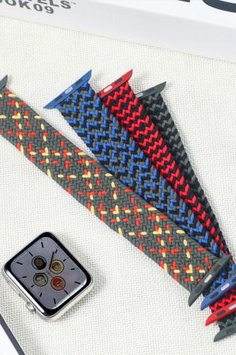Braided Solo Loop For Apple Watch Band Nylon Elastic Belt Bracelet