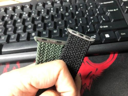 Nylon Braided Solo Loop for Apple Watch Nylon Strap