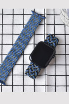 Fabric Braided Solo Loop Nylon Strap For Apple Watch