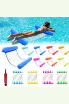 Foldable Water Hammock Swimming Pool Inflatable Air Mattress