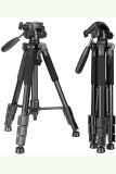 Video Camera Tripod Aluminum Travel DSLR Camera Stand
