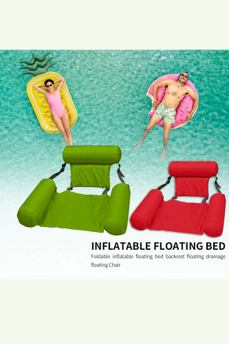 Water Hammock Air Mattress Lounger Floating Sleeping Cushion