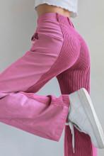 Patchwork Y2K Corduroy Pants Harajuku Sweatpants Wide Leg Trousers