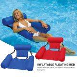 Water Hammock Recliner Swimming Pool Inflatable Mat  Air Mattresses