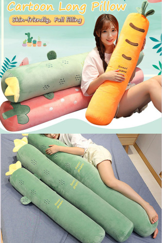 Long Pillow Side Sleeping Cushion Pregnant Leg Pillow
