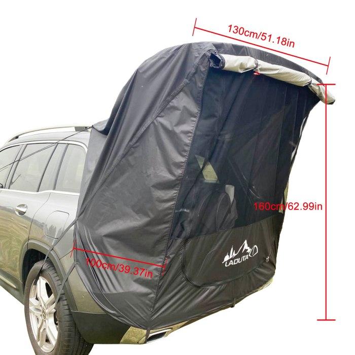 Car Trunk Tent Sunshade Rainproof Outdoor Tent
