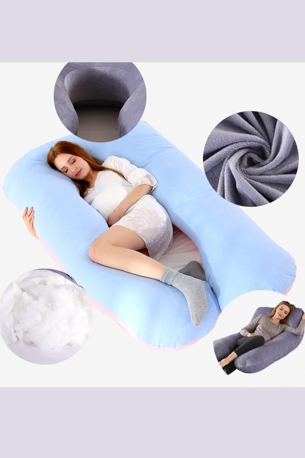 Body U-Shaped Side Sleeper Pillow Pregnant Maternity Pillows