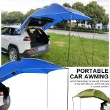 Car Awning Family Camping Tent Anti-UV Waterproof Traveling Tent