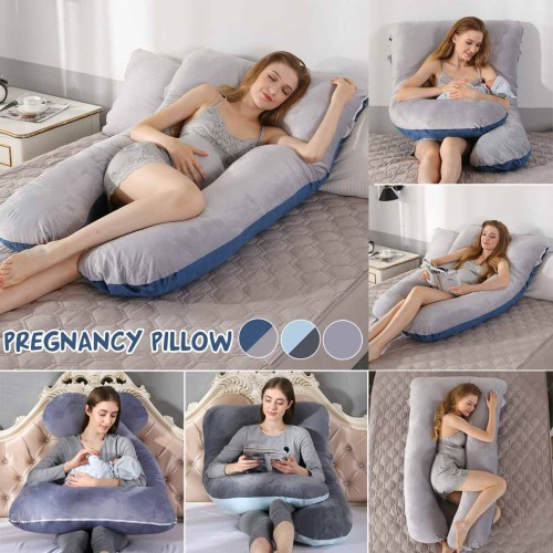 Sleeping Support Pillow U Shape Maternity Pillows Pregnancy Side Sleepers