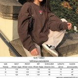 Y2K Vintage Zip Up Sweatshirt Jacket Long Sleeve Hooded Pullovers