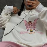 Loose Sweatshirts Hoodies Women Hooded Oversize Pullover