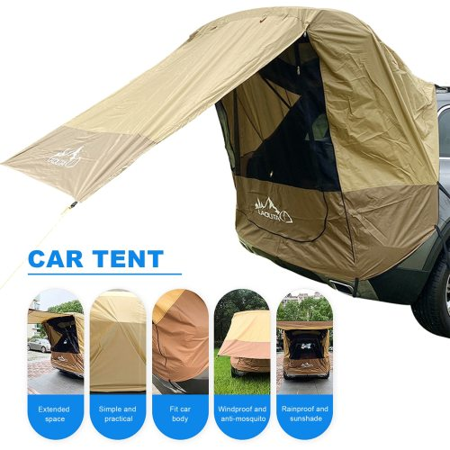 Car Trunk Tent Sunshade Rainproof Outdoor Tent