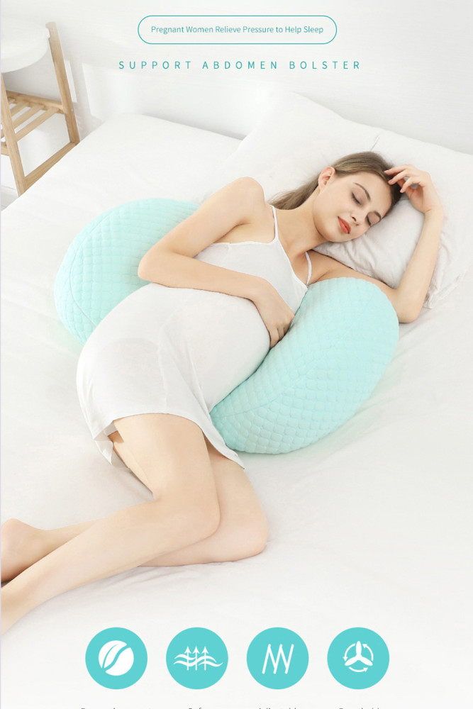 Multi-function U Shape Sleeping Support Pillow Side Sleepers Pillows