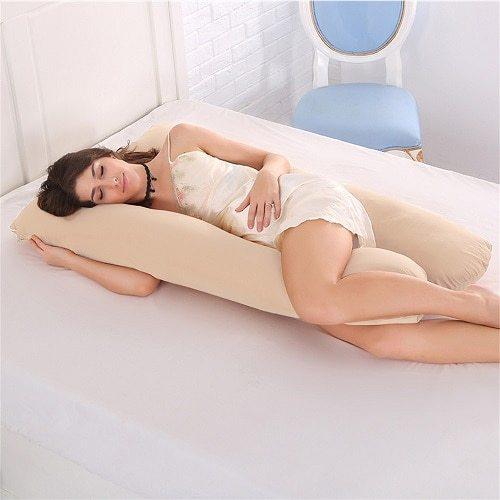 U-shaped Body Pregnancy Pillow Side Sleepers Cushion