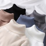Thick Slim Women Pullover Knitted Sweater Jumper