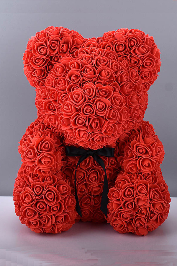 25cm Rose Bear Valentines Gift Home Decoration
