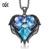 Women Pendant Necklace Heart Pattern Valentines Gift