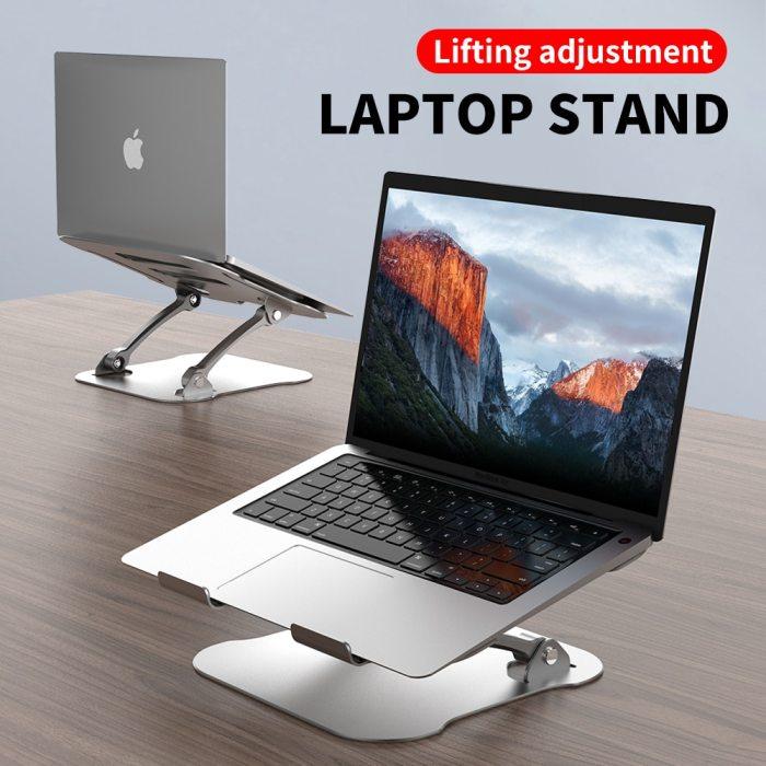 Aluminum Laptop Portable Holder Non Slip Laptop Stand
