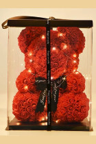 40cm Bear of Roses Artificial Flowers Home Wedding Festival Decoration