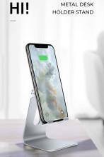 Desk Mobile Phone Holder Metal Phone Stand Desk