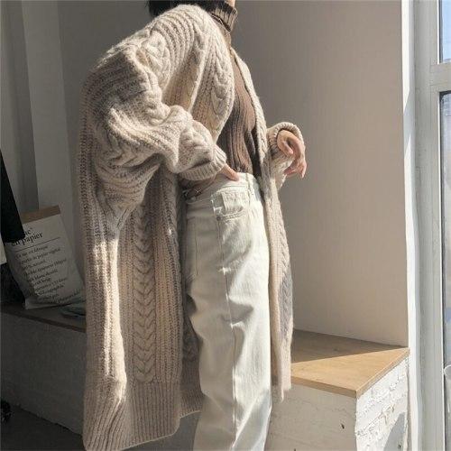 Women's Bat Sleeve Cardigans Oversize Sweaters