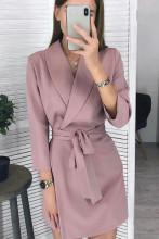 Women Vintage Sashes A-line Party Mini Dress