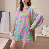 Women Oversized Sweater Knitted Pullovers Loose Jumpers