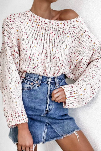 Knitted Pullover Long Sleeve Knit Crochet Sweaters Jumper