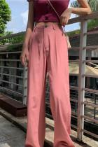 Long Loose Pants High Waist Wide Leg Trousers Casual Pants