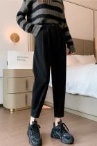 Women's Casual Loose High Waist Harem Pants