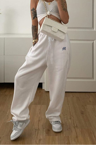 Streetwear Drawstring Sweatpants Y2K Pants Capris