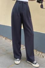 Women Loose Long Straight Wide Leg Pants