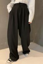 Straight Wide Leg Pants High Waist Casual Long Pants
