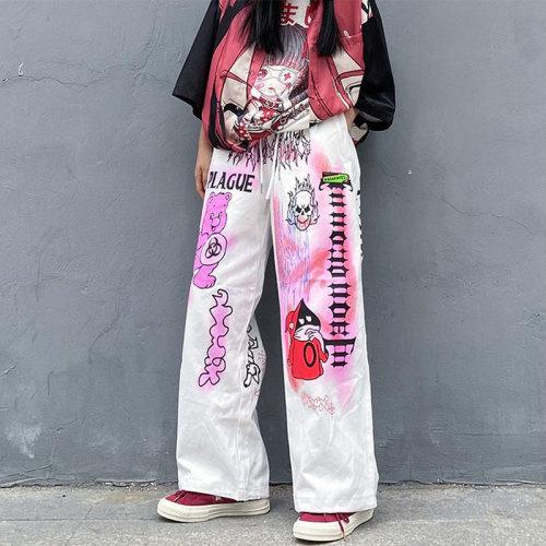 Hip Hop Streetwear Wide Leg Aesthetic Baggy Pants