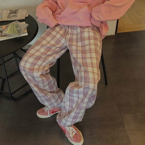 High Waist Pants Casual Loose Trousers Harem Pants
