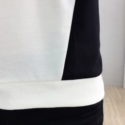 Patchwork Pullover Sweatshirt Long Sleeve Hoodies