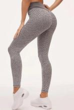 Grid Tights Yoga Pants Women Seamless High Waist Leggings Breathable Gym Fitness Push Up Clothing Girl Yoga Pant