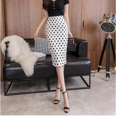 22 Models Summer Women ladies famous Pencil skirt Print High Waist Slim Bodycon Midi vintage Skirts korean style Female Falda