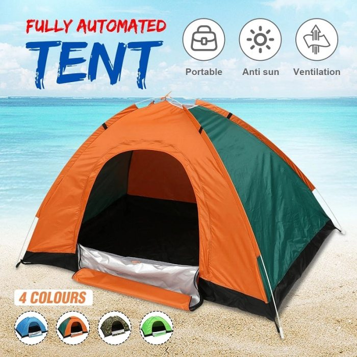 (2-3 Person) Pop Up Camping Tents Outdoor Best Camping Tents Pop Up Large Camping Tents