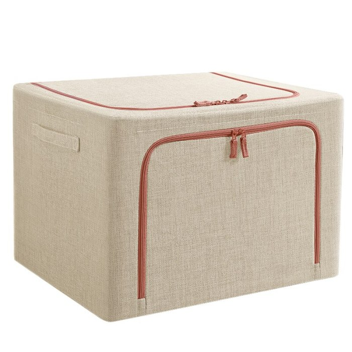 Fabric Storage Bins Toy Organizer Cube Storage Bins Clothes Foldable Storage Bag