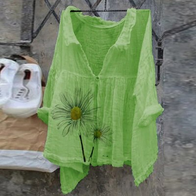 Pullover Loose Big Size Bat-sleeve T-shirt Women's Clothing Print Top Ladies Fashion Shirts Plus Graphic Tees Casual Streetwear